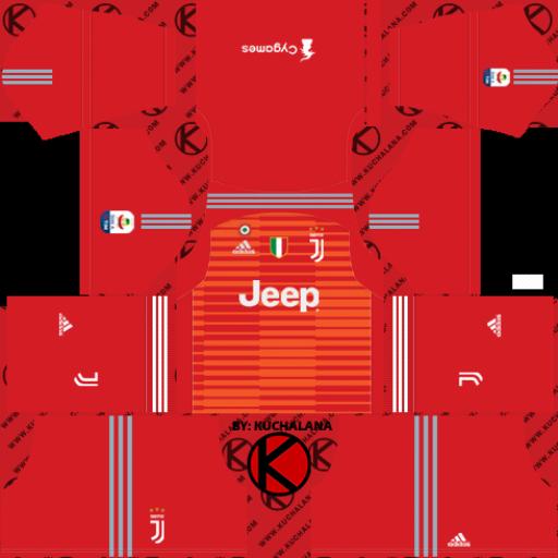 Juventus Goalkeeper Third Kits