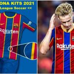 New Barcelona Kits 2021 DLS 20 Logo