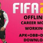 FIFA 20 Offline APK MOD Career Mode Download