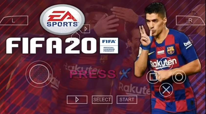 FIFA 20 iSO PSP Android Update 2020 Mod PES Offline Download