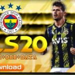 DLS 20 Mod APK Fenerbahce Kits 2021 Download