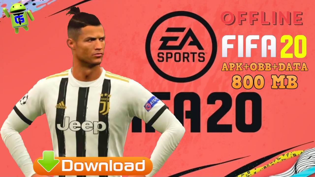 FIFA 20 Mod APK Offline English Kits 2021 Download