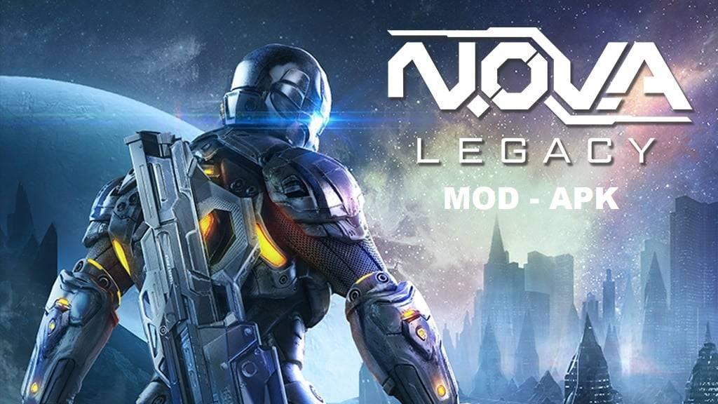 N.O.V.A. Legacy MOD APK Unlimited Money Download