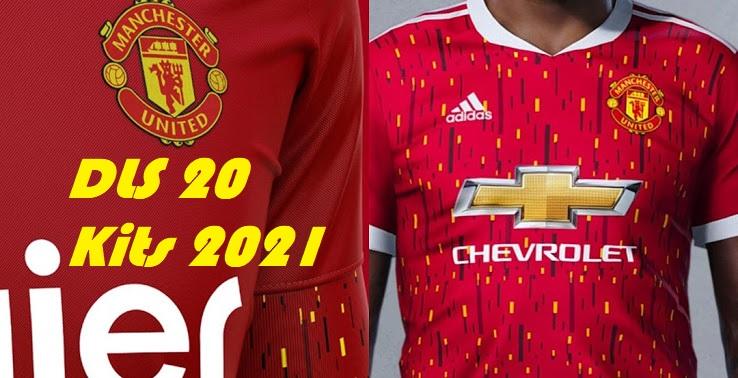 New Manchester United Kits 2021 DLS 20 Logo