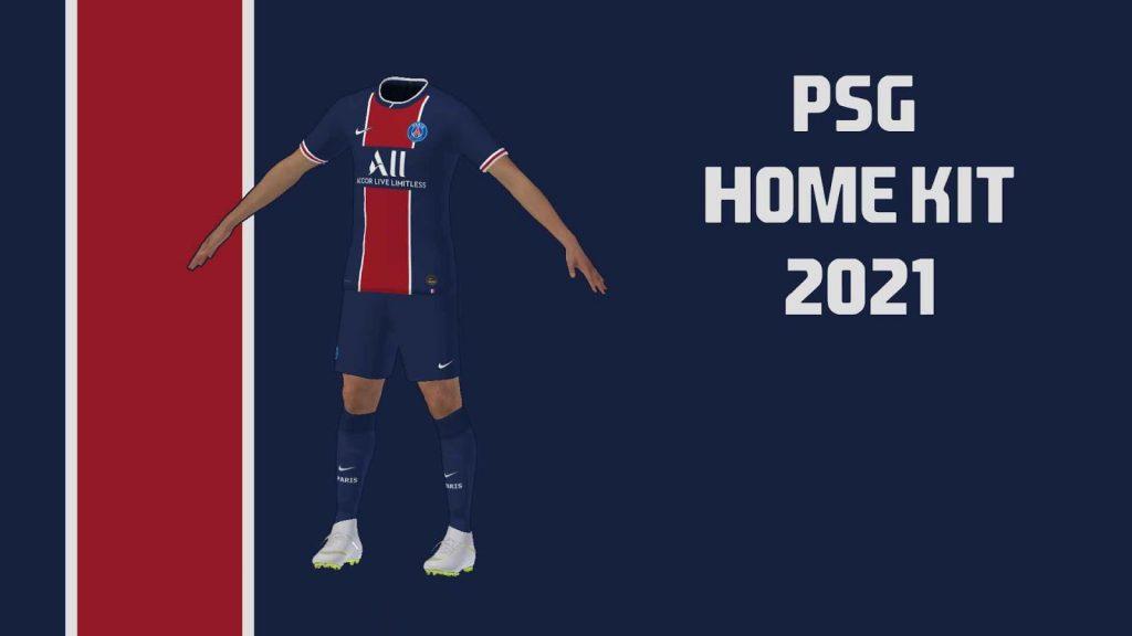 New PSG Kits 2021 DLS 20 Logo Paris Saint Germain