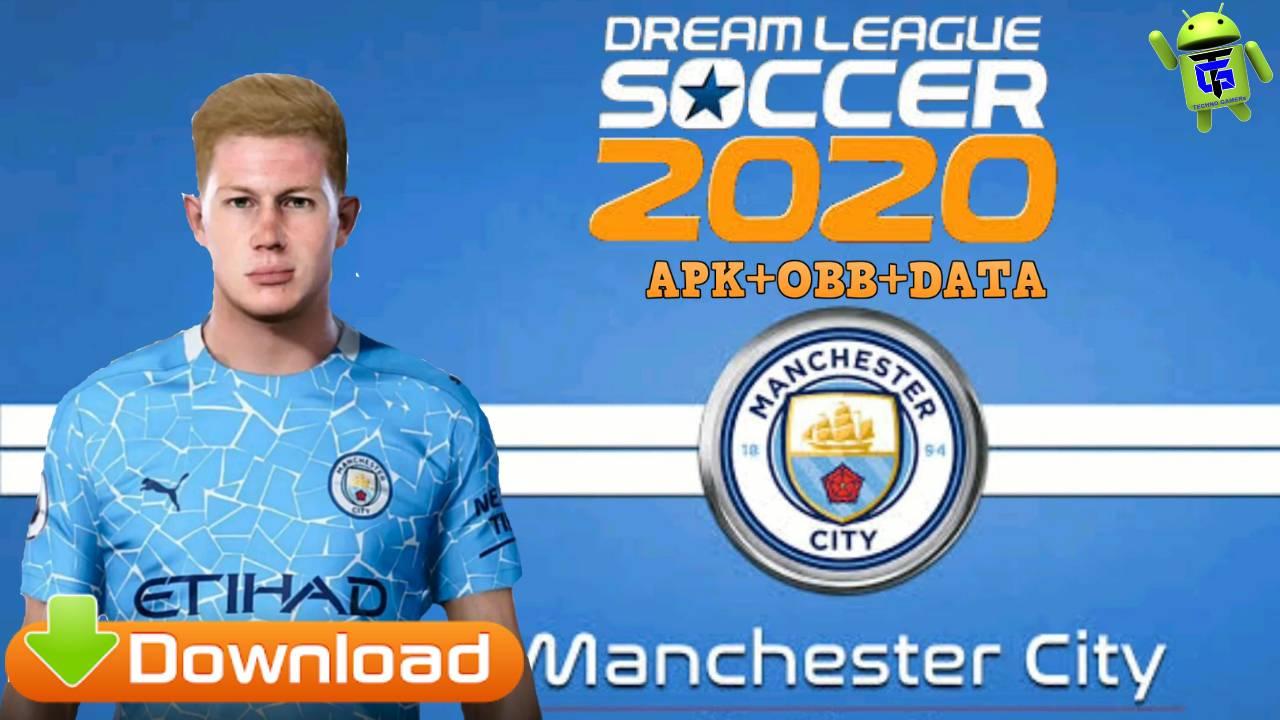 DLS 20 Mod APK Manchester City Download