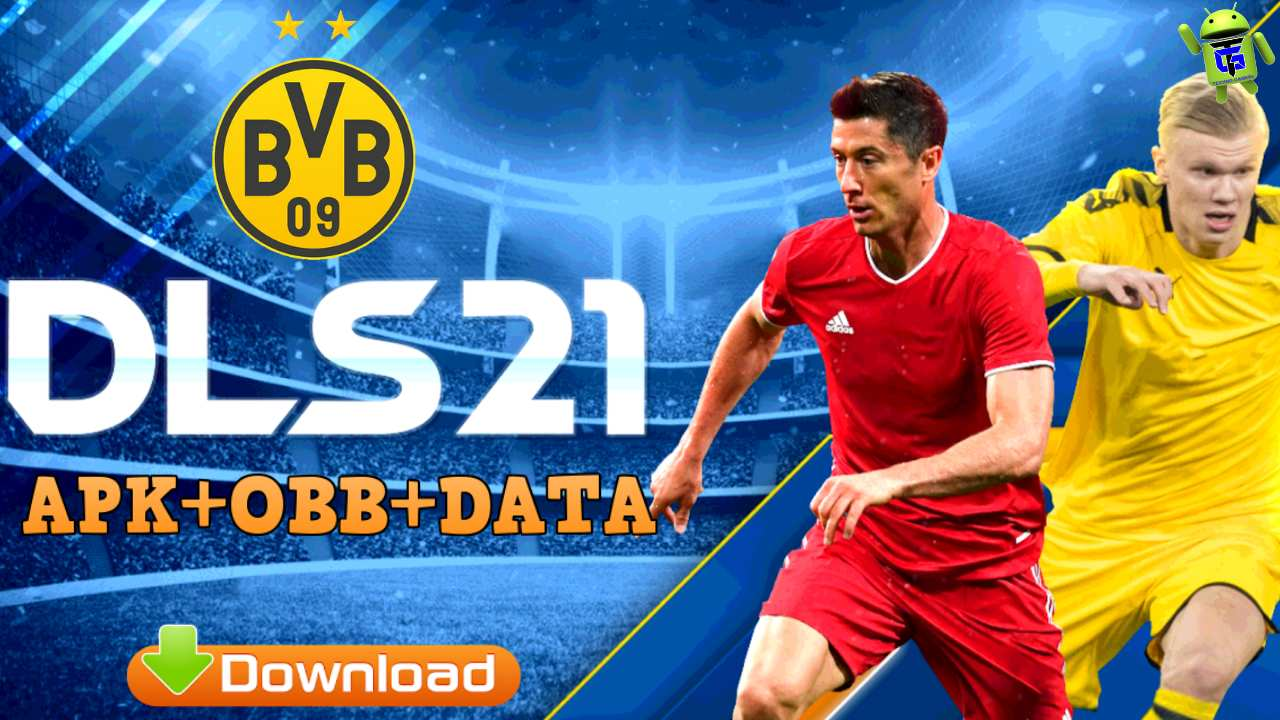 DLS 21 Mod Apk Borussia Dortmund Team Download