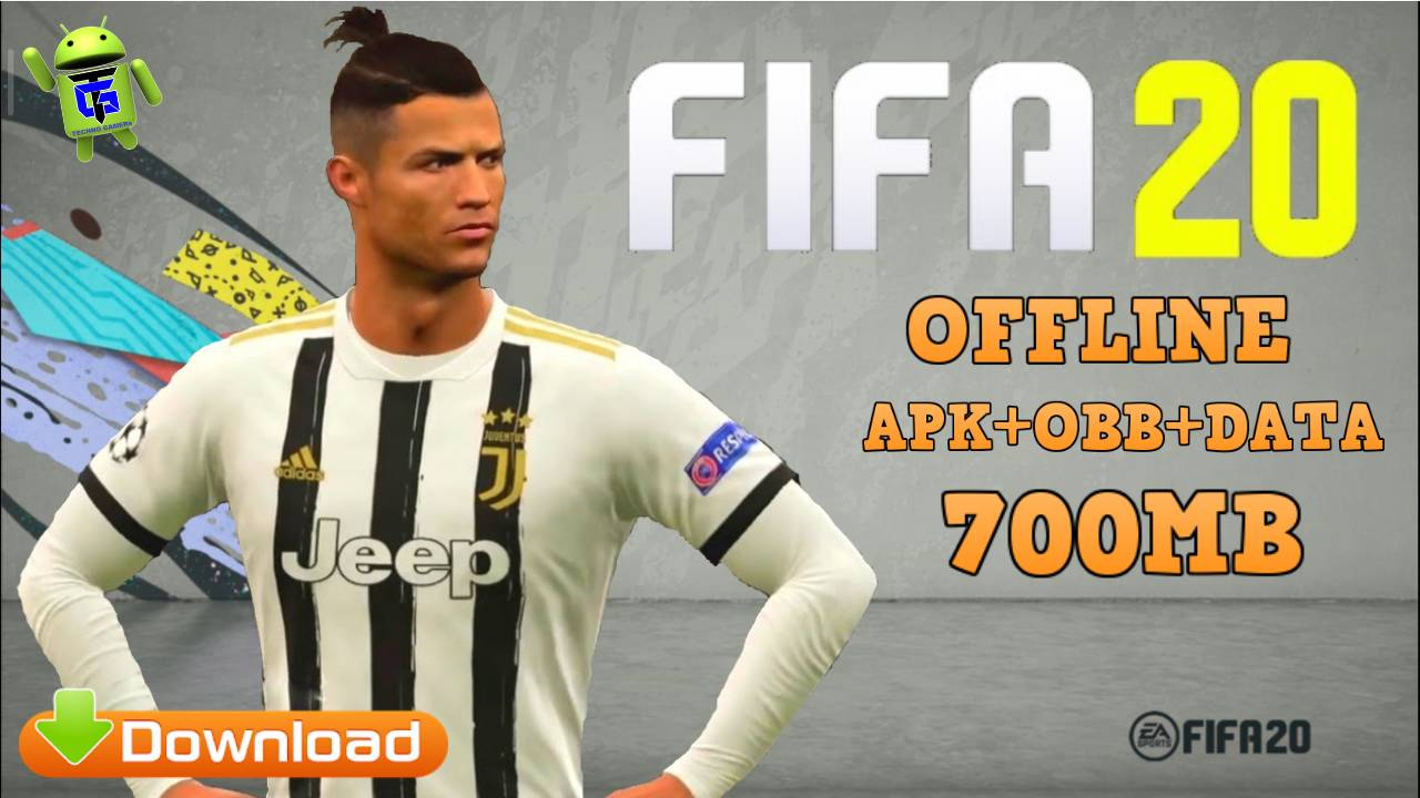 FIFA 20 Android APK OBB Data 700MB Download