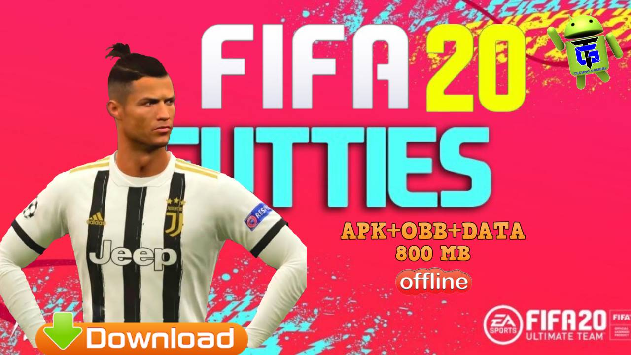 FIFA 20 Android Mod APK Futties Kits 2021 Download