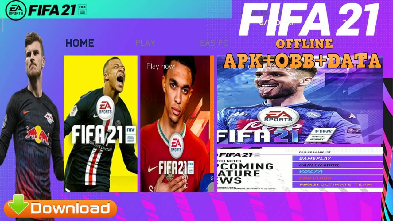 FIFA 21 Mod APK OBB Data Download
