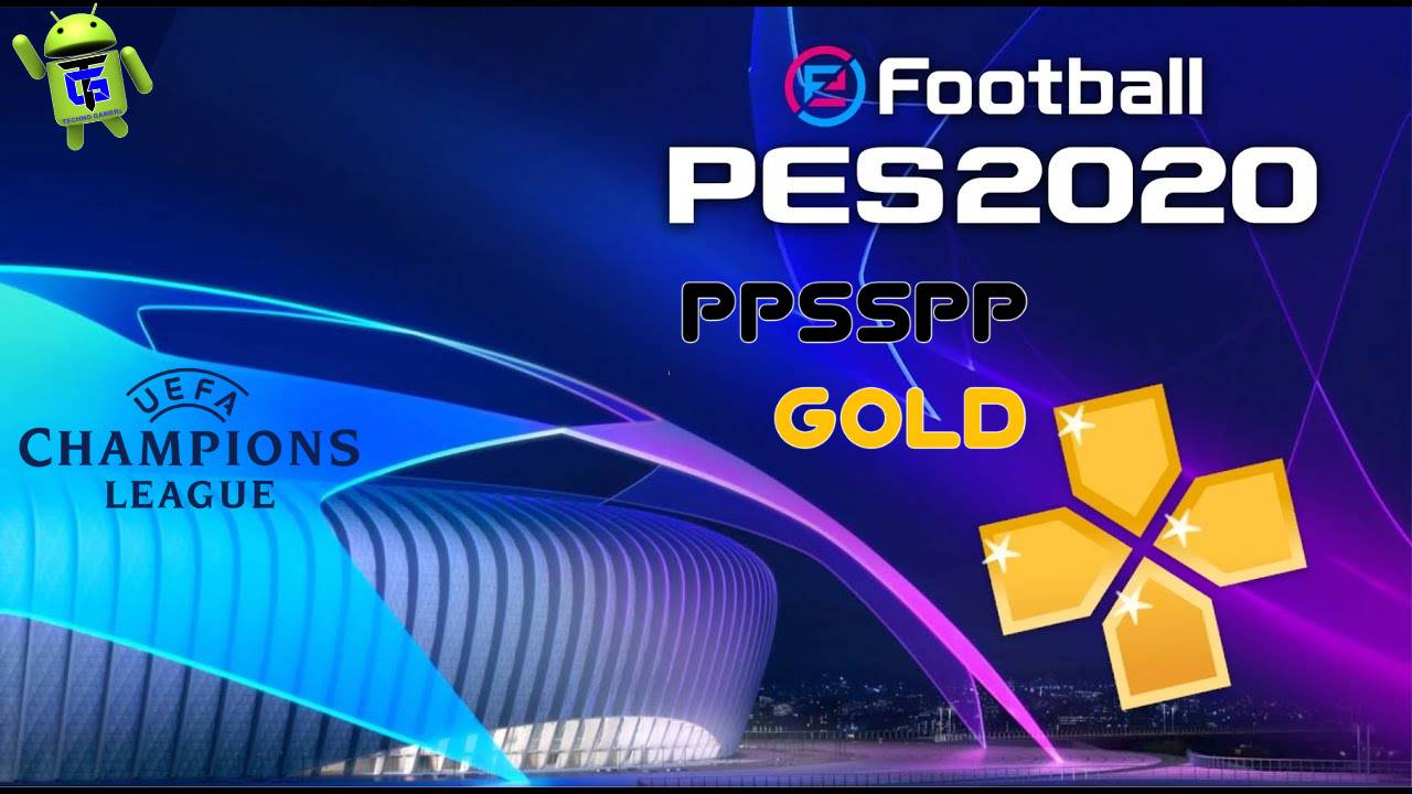 PES 20 UCL PPSSPP Mod Android Offline Download
