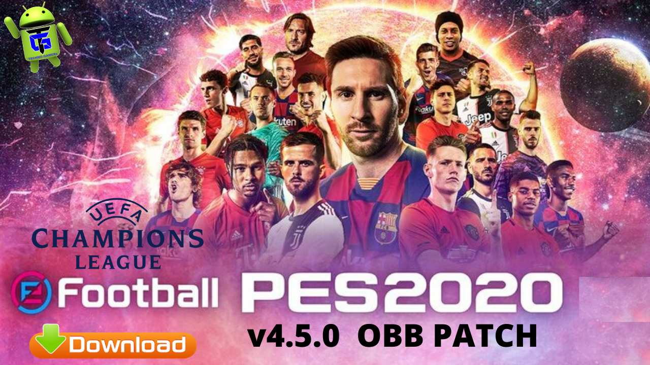 PES 2020 PATCH v4.5.0 UEFA Android Download