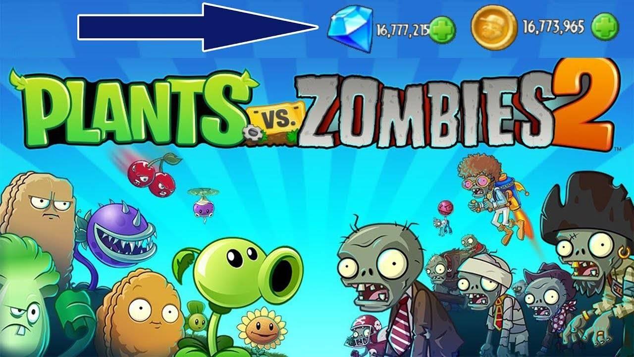 Plant Vs Zombie 2 APK Mod Unlimited Download
