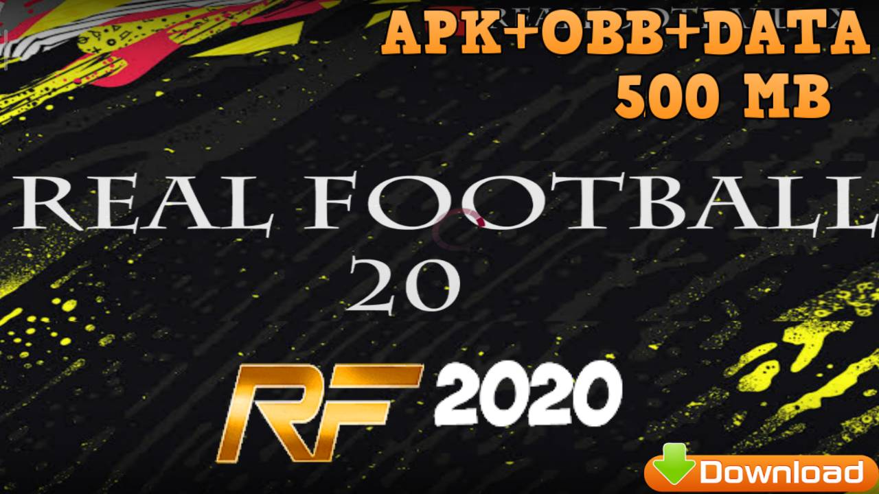 Real Football 2020 Mod Fifa 20 Android Offline Download