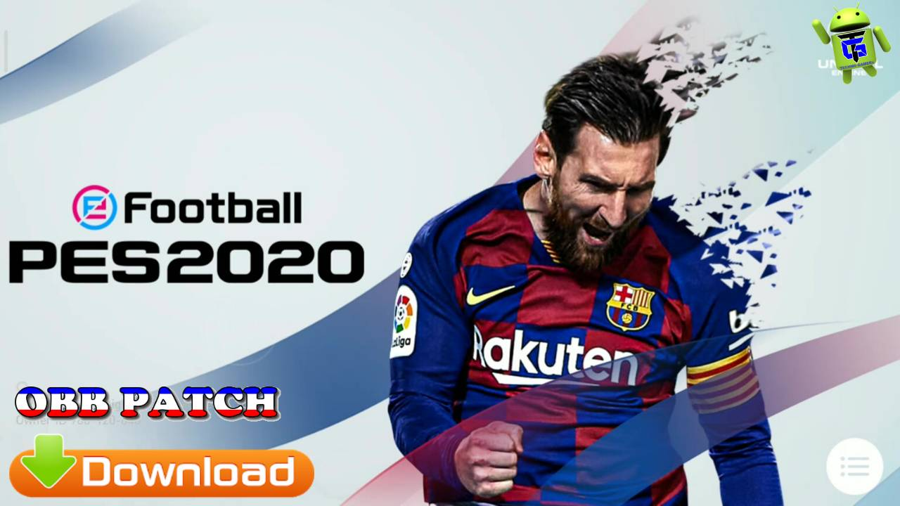 eFootball PES 2020 Patch APK+OBB Download