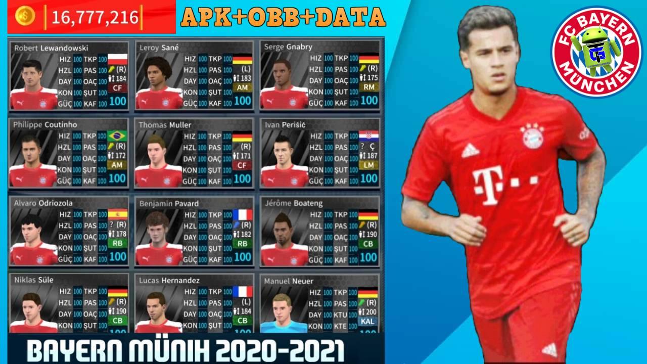DLS 21 Mod Bayern Munich 2021 Download