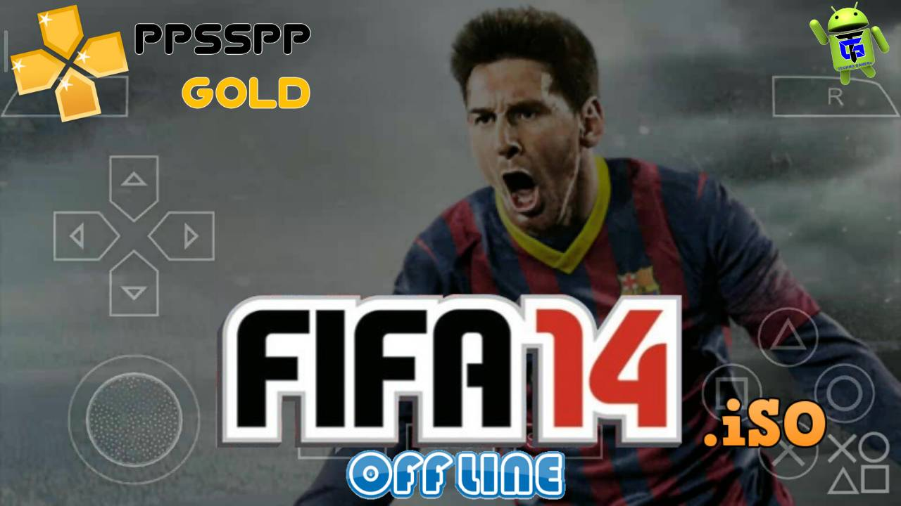 FIFA 14 PPSSPP iSO for Android Download