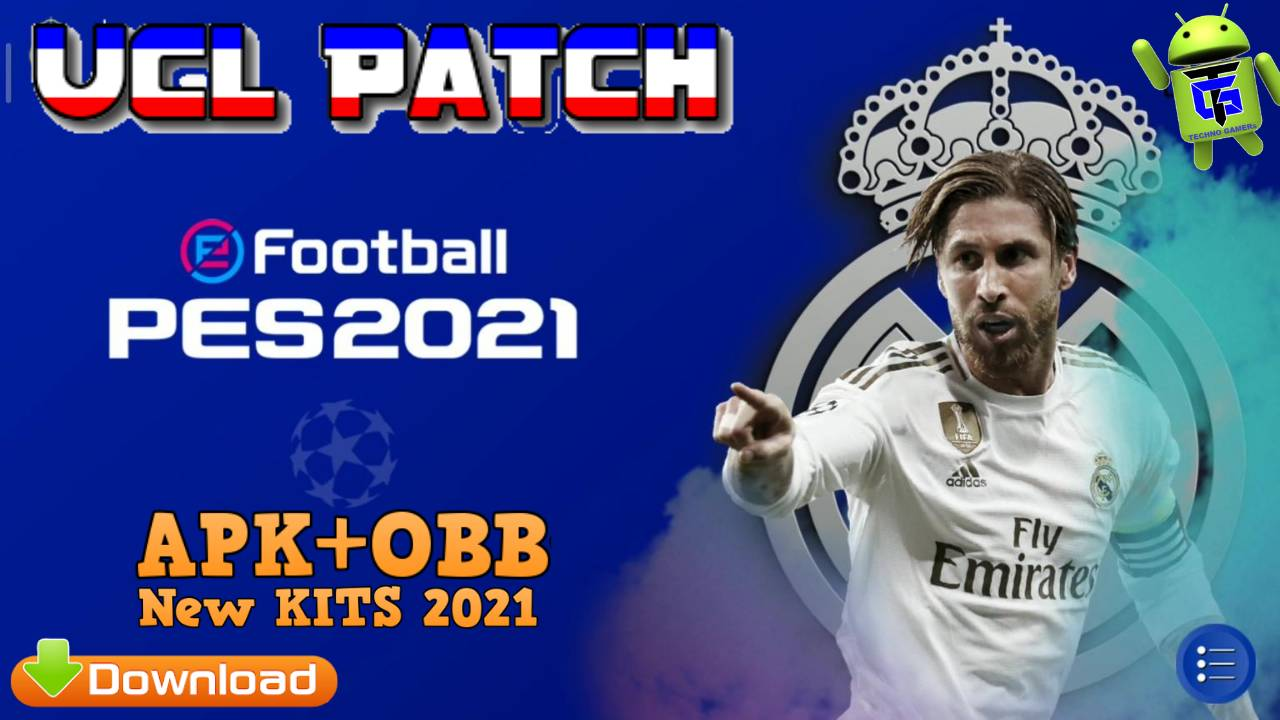efootball pes 2021 ucl apk obb patch