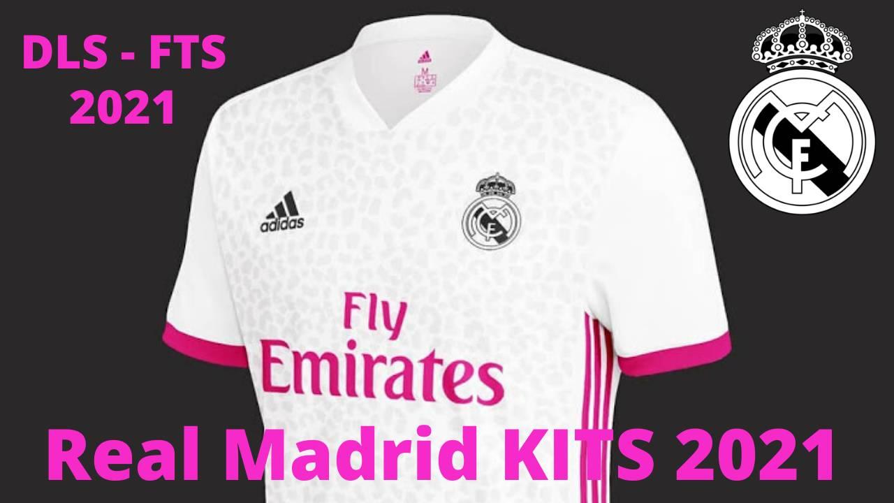 Real Mdrid CF 2021 Kits DLS 20 - Dream League Socce