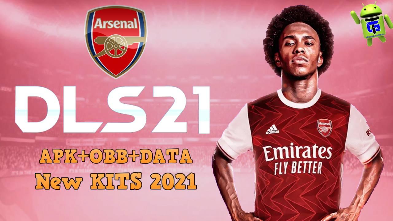 DLS 21 APK Mod Arsenal New Kits 2021 Download