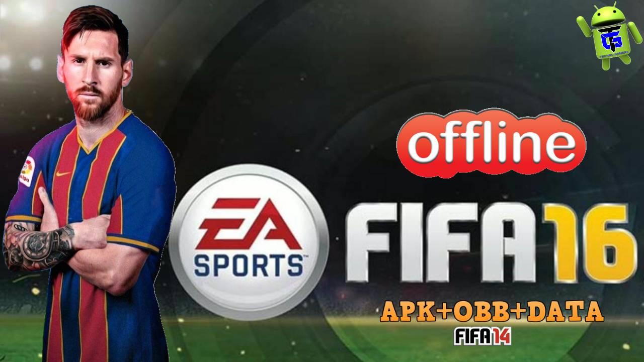 FIFA 16 Offline Mod APK OBB Data Download