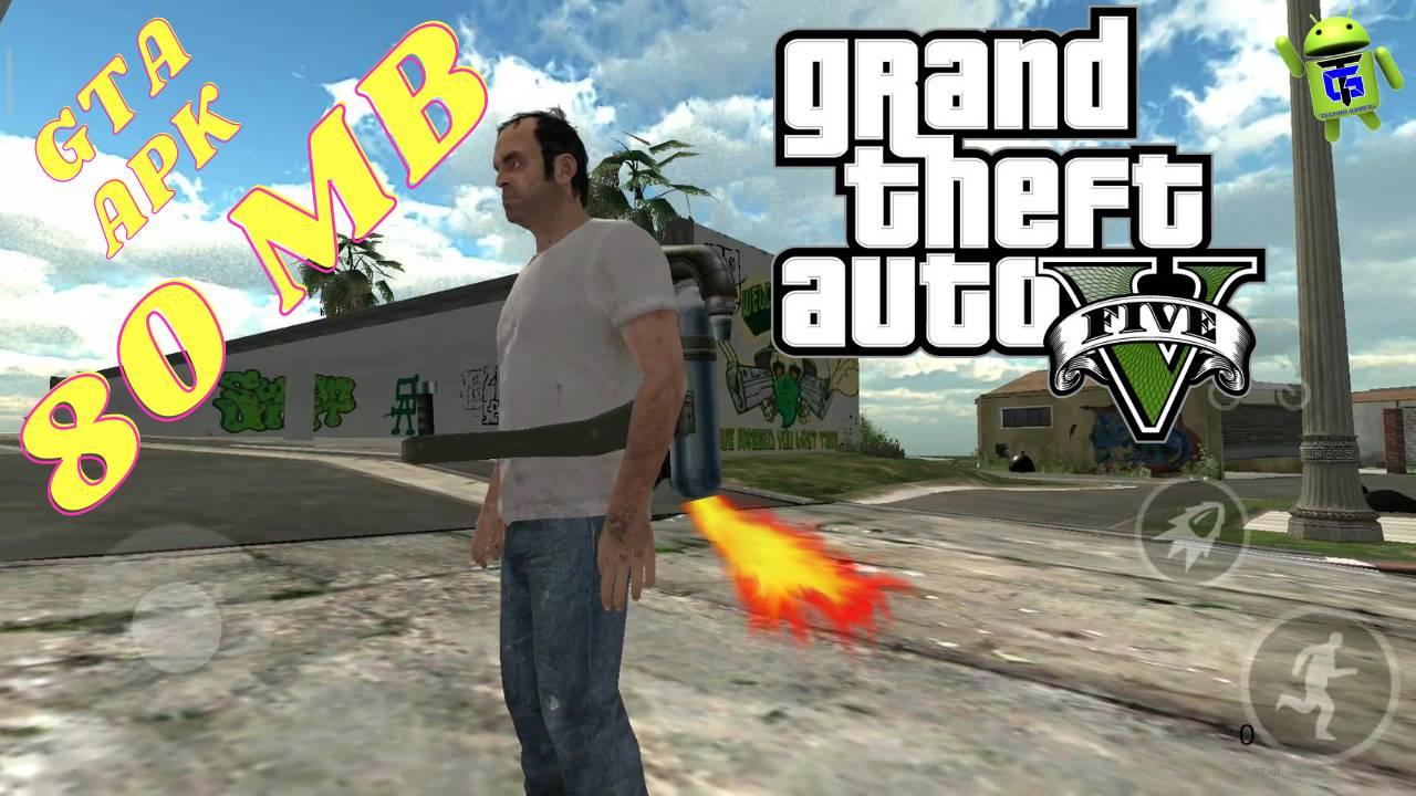 GTA 5 APK Lite Game 80MB Download