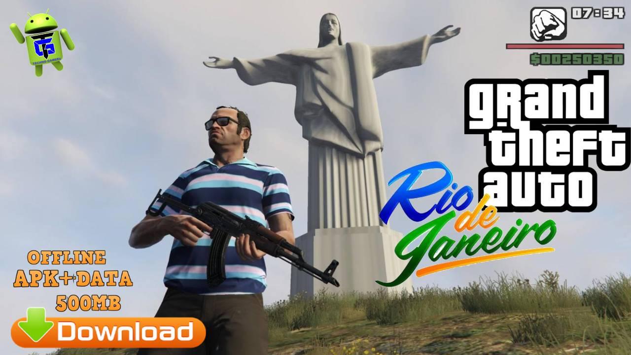GTA Rio De Janeiro Mod APK Data Download