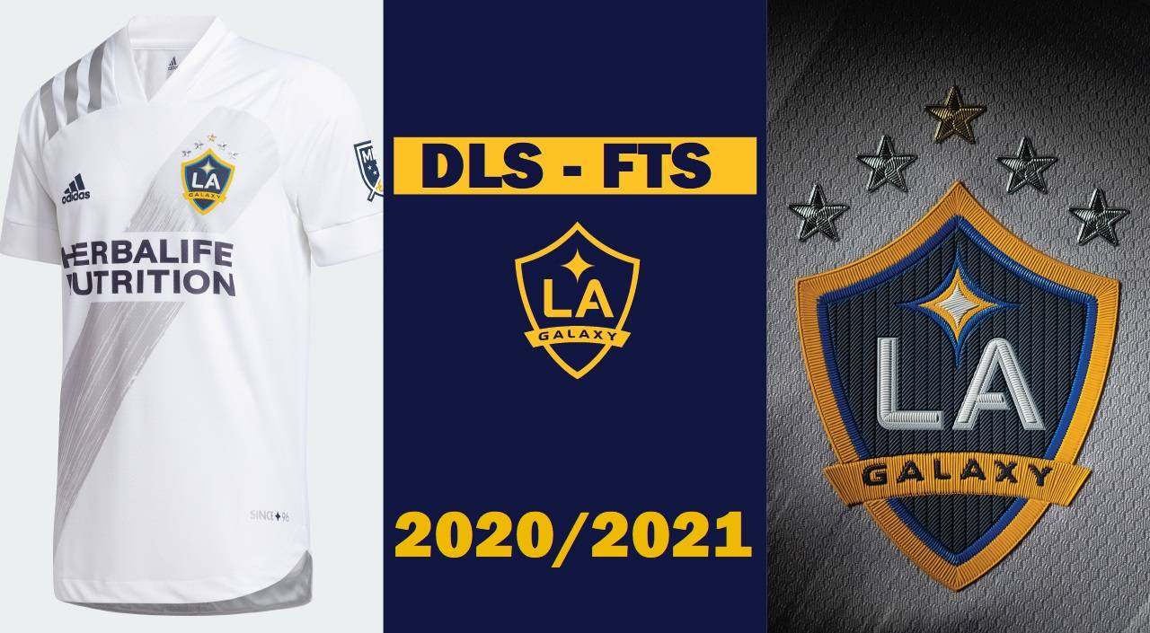 DLS La Galaxy 2021 Kit and Logo Dream League Soccer FTS