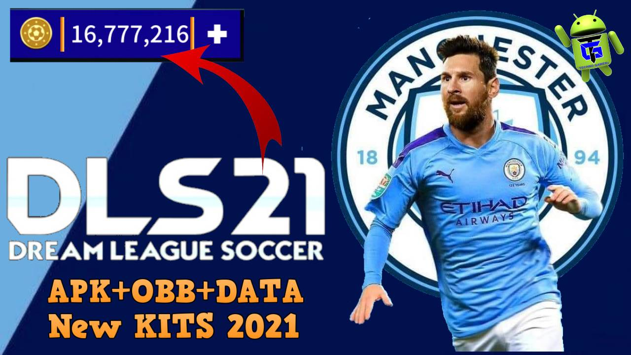 DLS 21 Mod APK Messi on Manchester City Download