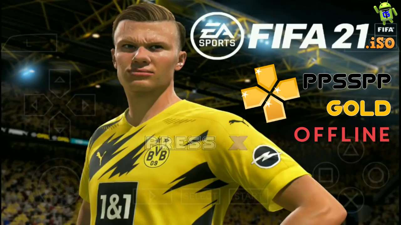 FIFA 21 PPSPP Android Offline Best Graphics HD Download