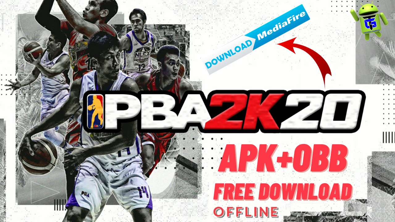 PBA 2K20 Mod Apk Obb for android unlimited money Download
