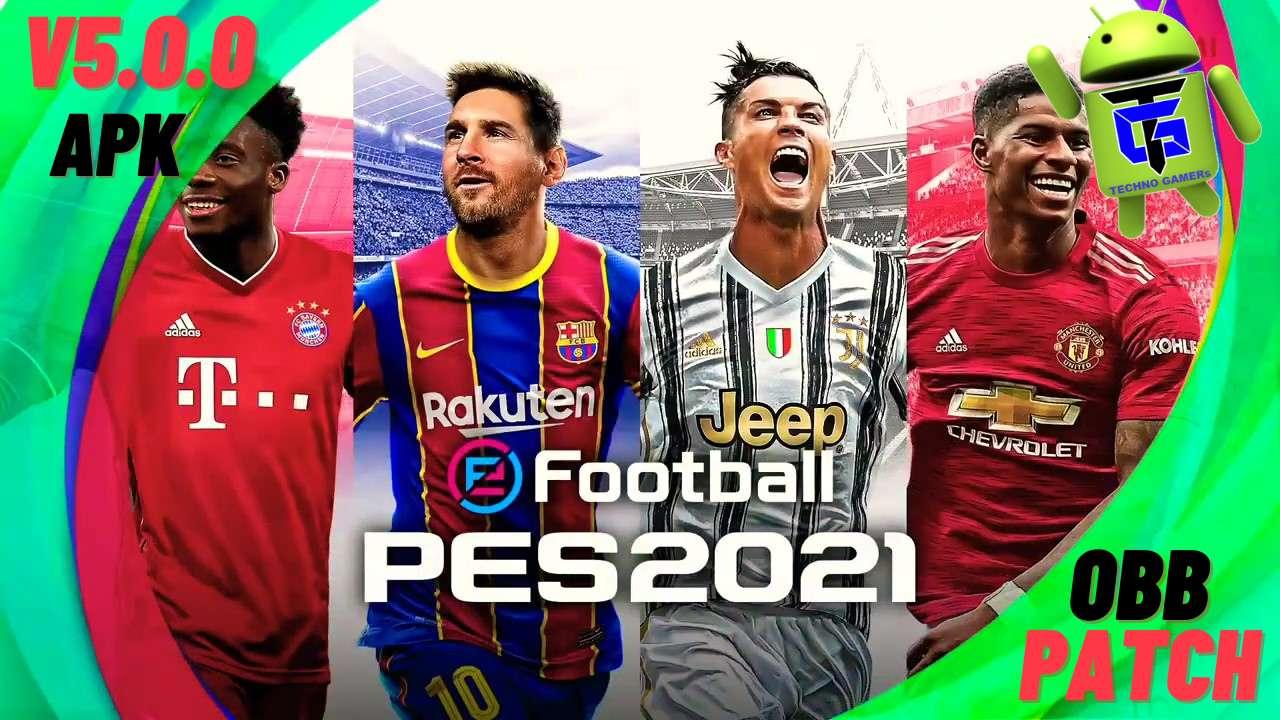 PES 2021 apk v5