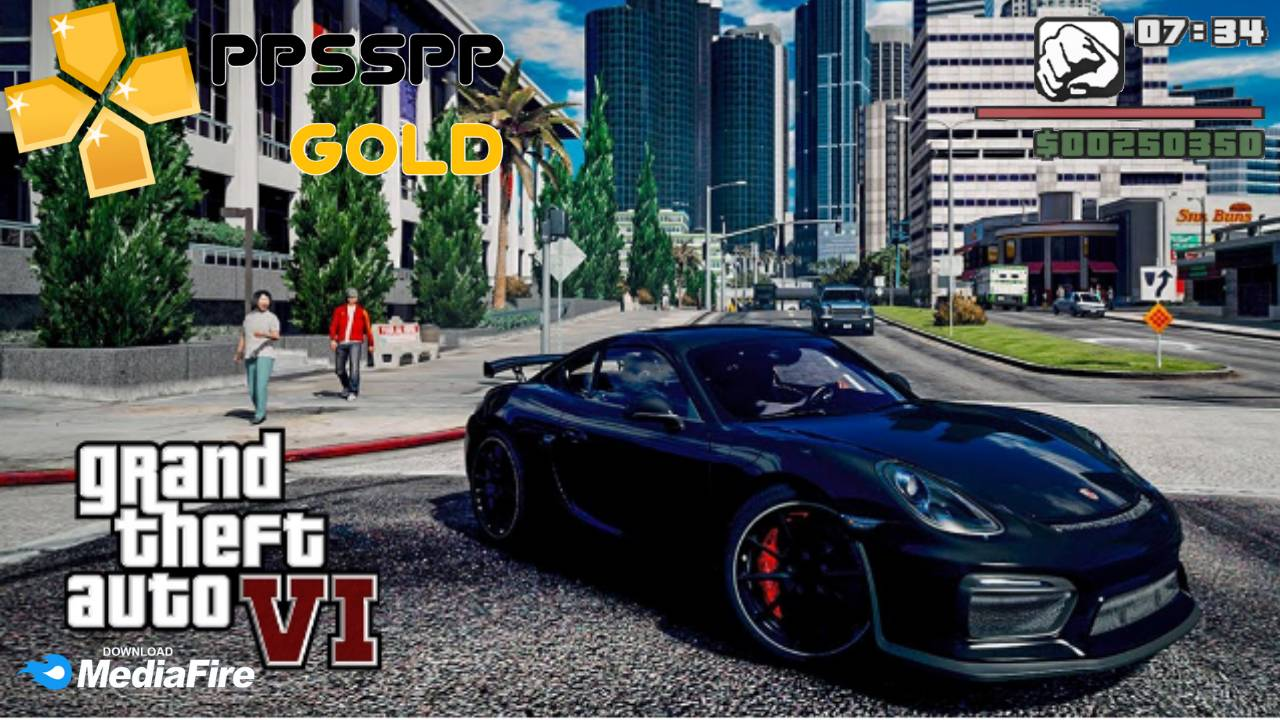 GTA 6 iSO File For Android PPSSPP Download