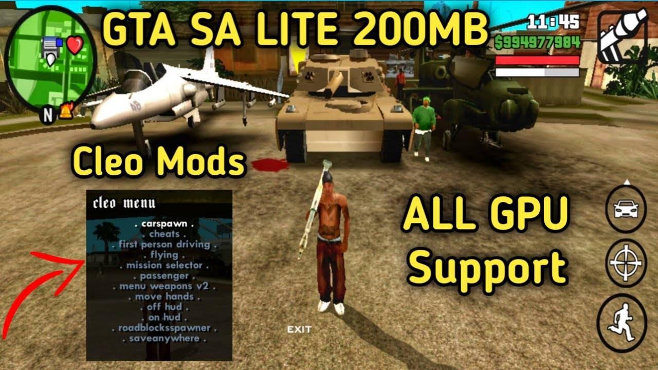GTA SA Lite Apk Download