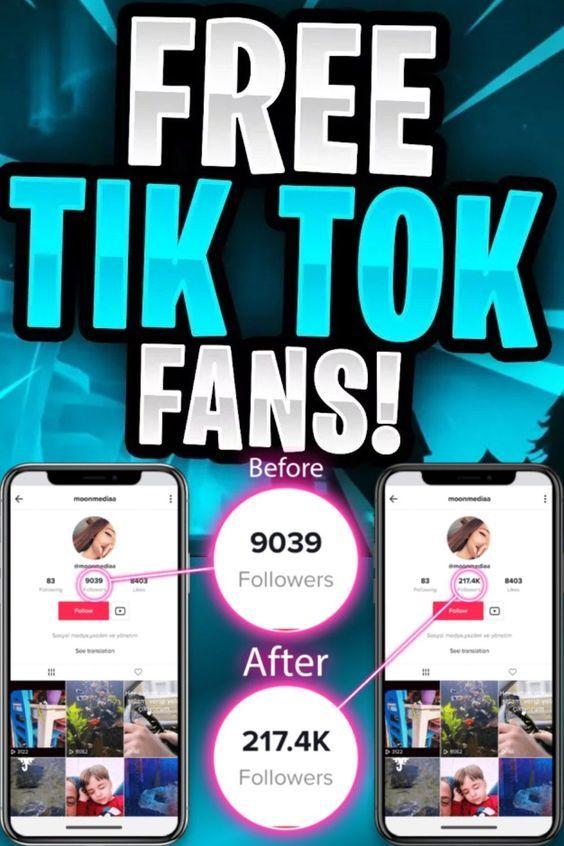 Get Free Followers on TikTok 2021
