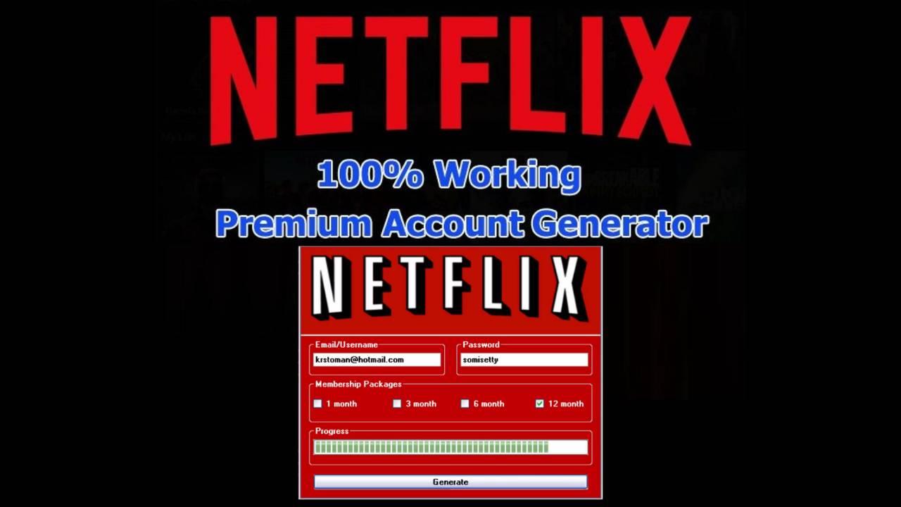 NetFlix Account Generator 2021