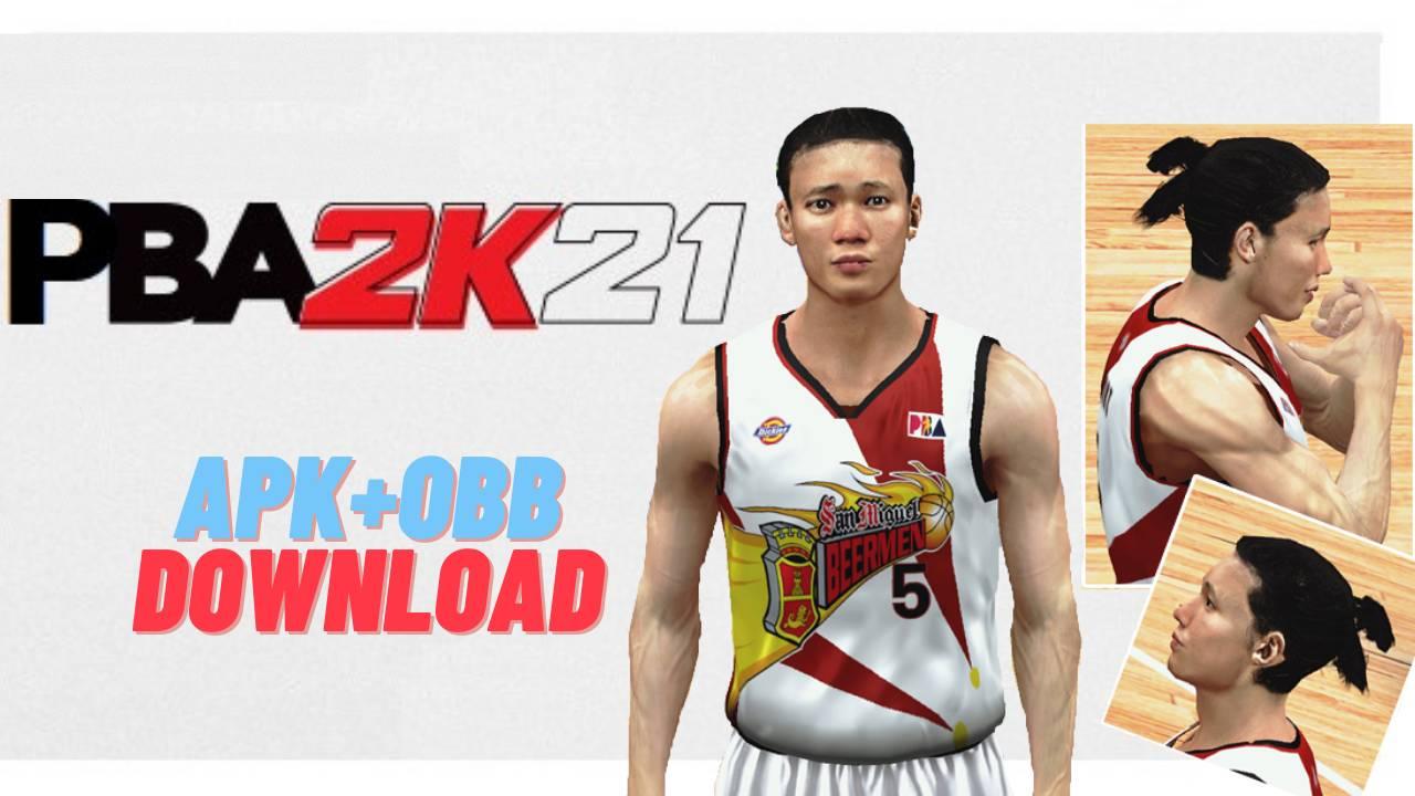 PBA 2K21 APK OBB Android Download