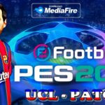 Update PES 2021 Mobile OBB Patch Champions League Theme