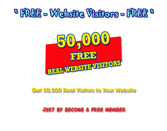 50k Free Visitors For Your Website 2021