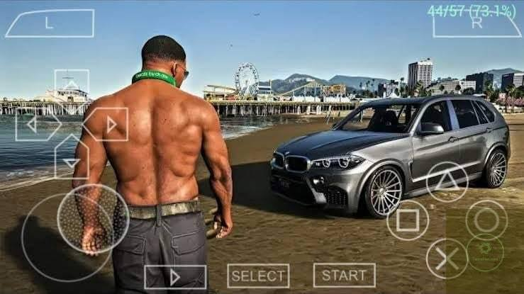 GTA 6 iSO PPSSPP Gold for Android