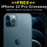 Win iPhone 12 Pro Max 5G Smartphone Giveaway