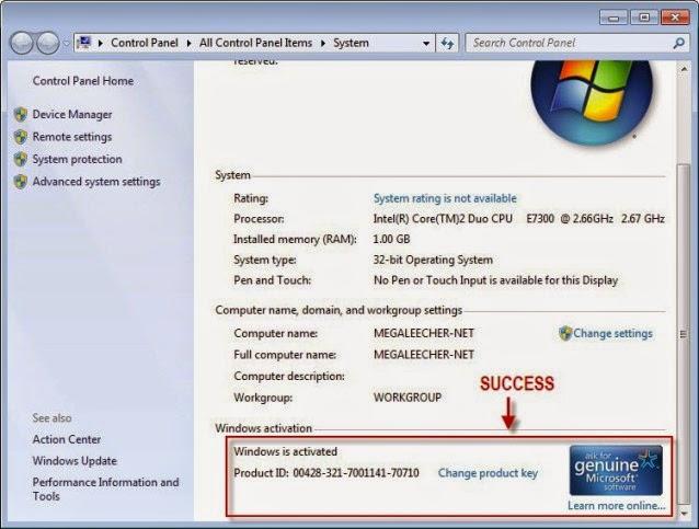 Windows 7 Enterprise 2021 Full Activator Key