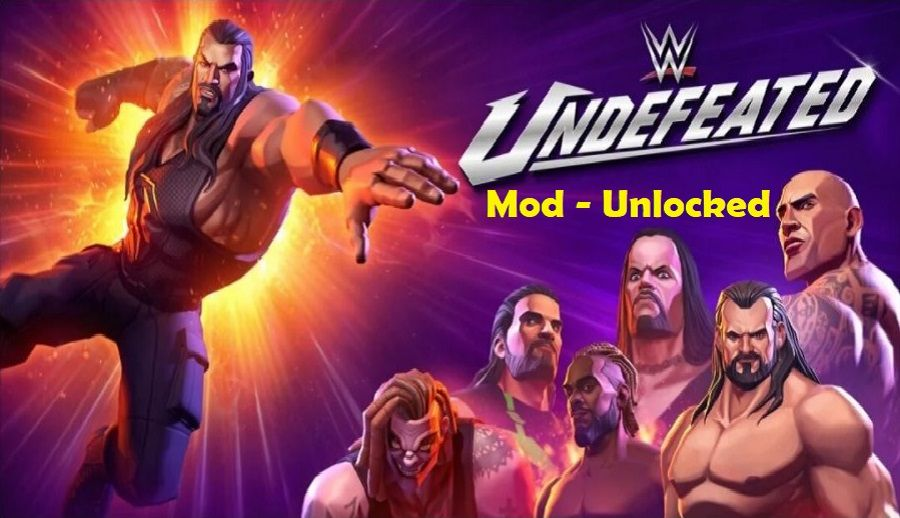 WWE Undefeated Apk Mod Unlimited Money Crack Download
