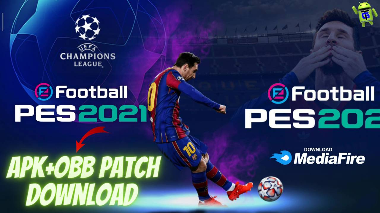 eFootball PES 2021 APK Mod Obb Patch Unlimited Money Download