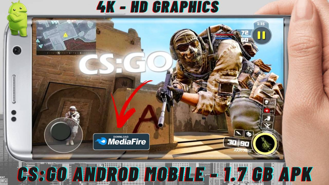CS GO APK Androd Mobile Download