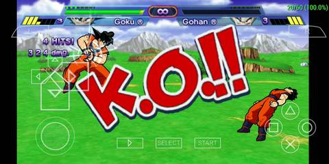 Download Dragon Ball Z PPSSPP for Android