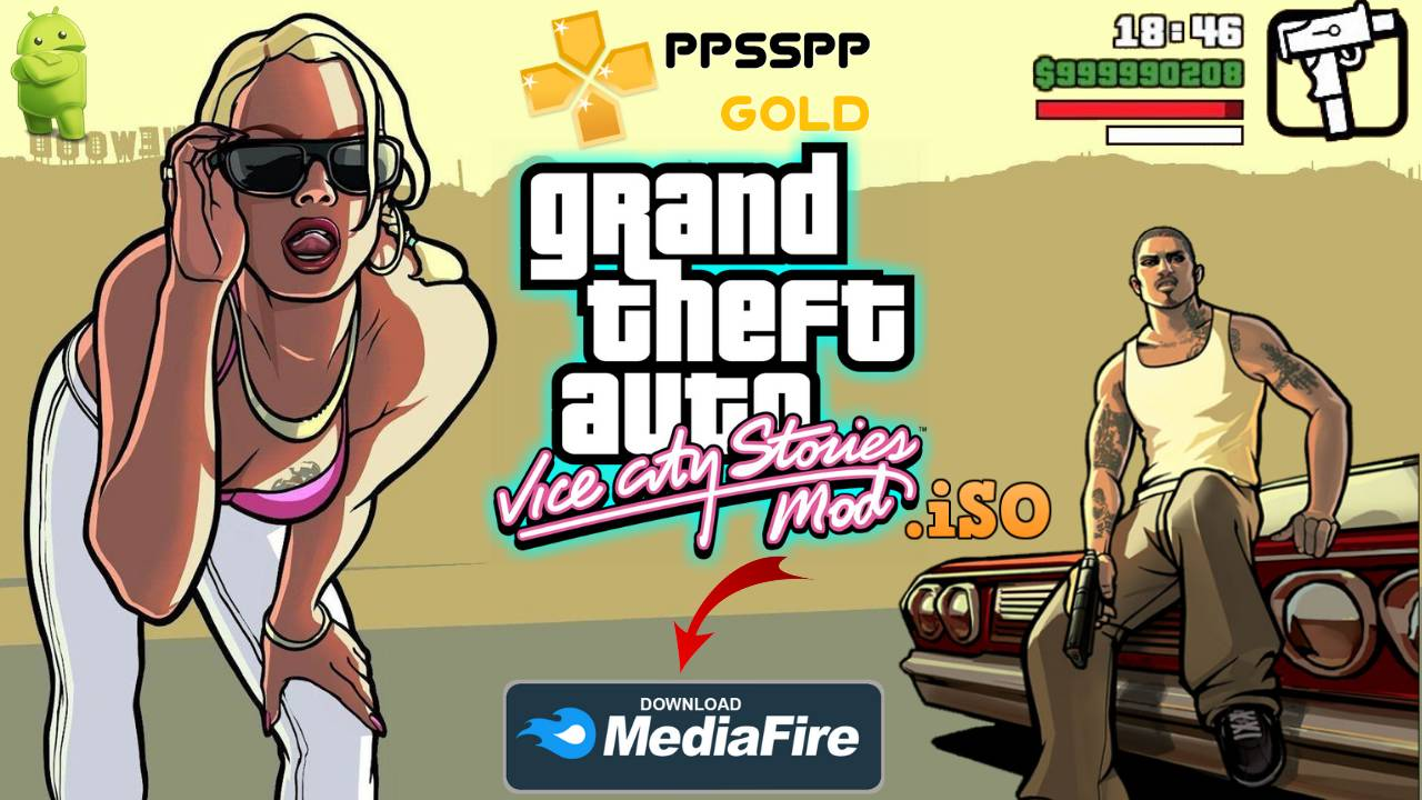GTA Vice City PPSSPP Download for Android and iOS