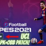PES 2021 UCL APK OBB Patch Download