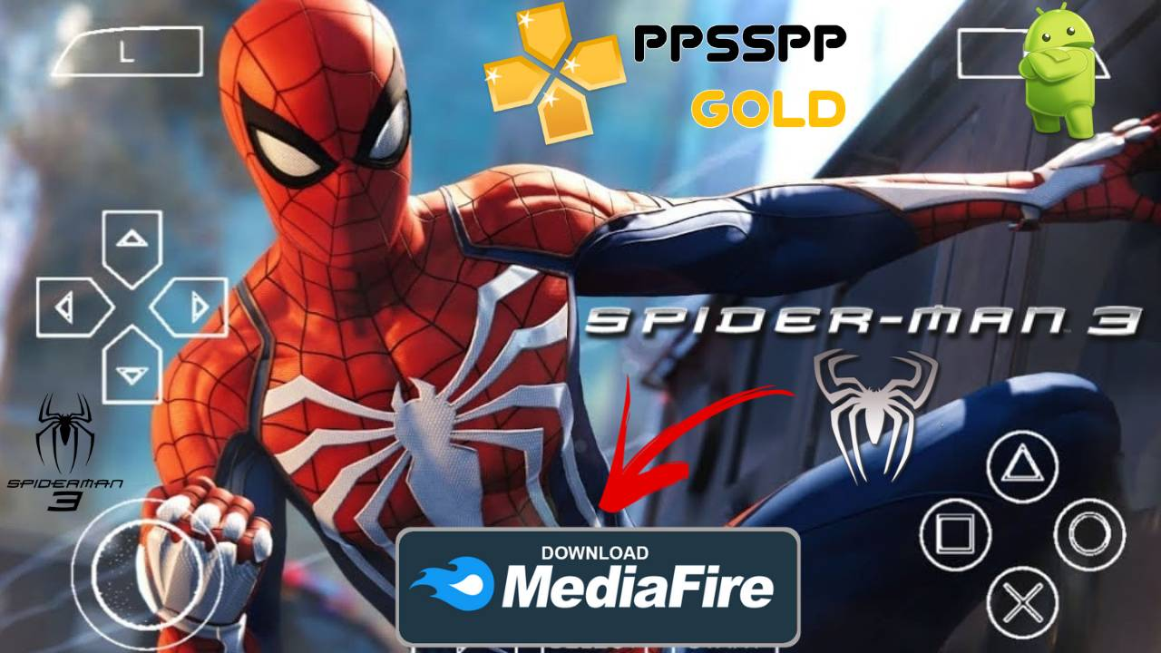 Spider Man 3 PPSSPP Download for Android and iOS