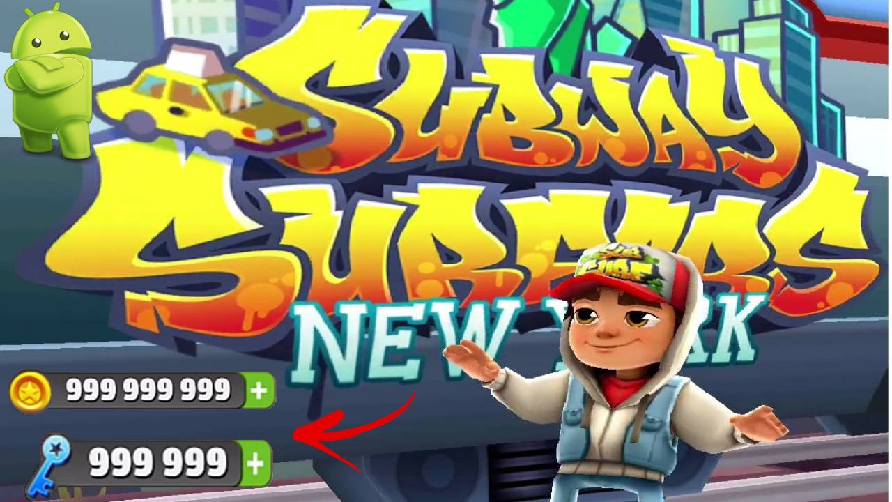 Subway Surfers APK Mod Unlimited Coins and Keys Download